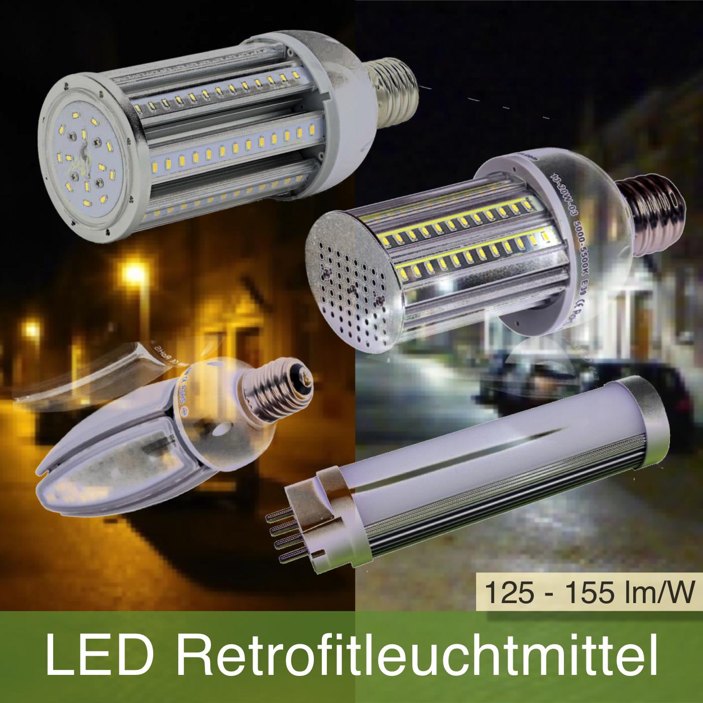 LED Retrofit Leuchtmittel