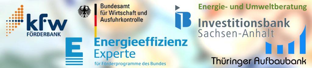 Förderprogramme des Bundes, LSA und Thüringen
